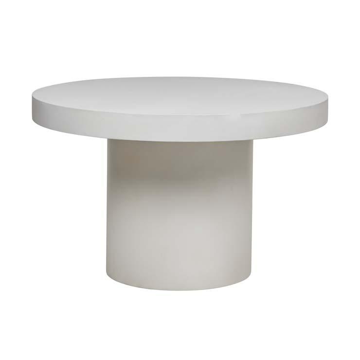 Ossa Concrete Round Dining Table, Concrete Round Dining Table Australia