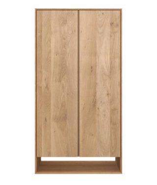 Oak Nordic Dresser 2 Doors