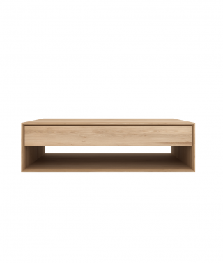 Oak Nordic Coffee Table 1 Draw