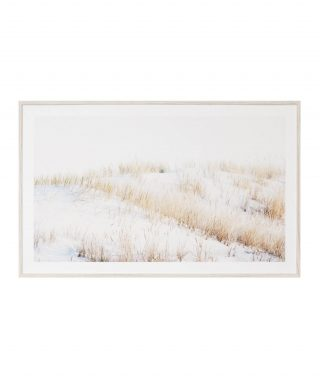 Golden dunes print