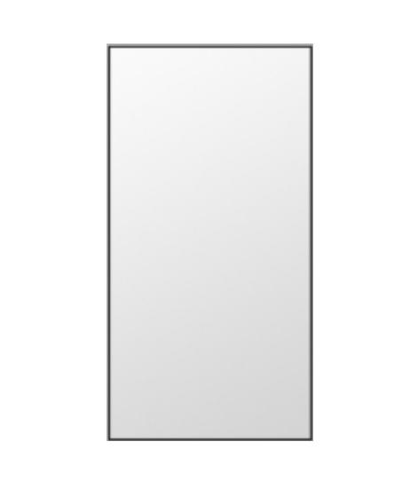Leaner mirror black