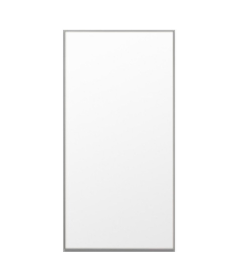 Leaner mirror grey