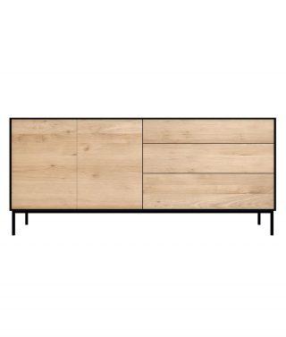 Oak Black sideboard