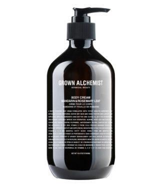 Grown Alchemist Body Cream: Mandarin & Rosemary Leaf – 500mL