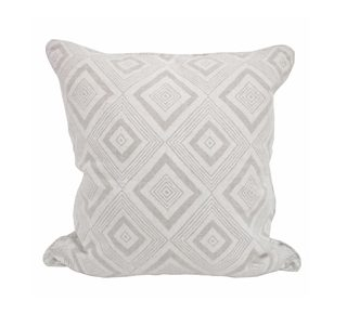 Swazi Inverse Chalk linen cushion 55x55cm