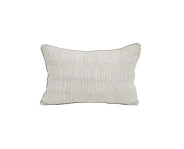 Matches chalk linen cushion 30x45cm