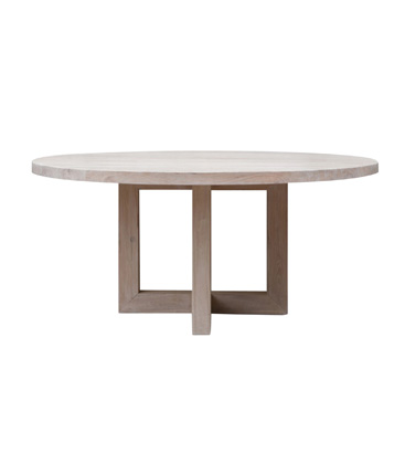 Round Dining Table chalk