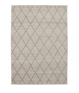 berber knot atlas rug – limestone