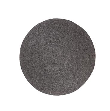 Braid Weave rug charcoal