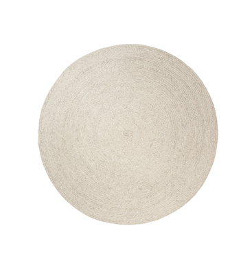 braid weave rug chalk