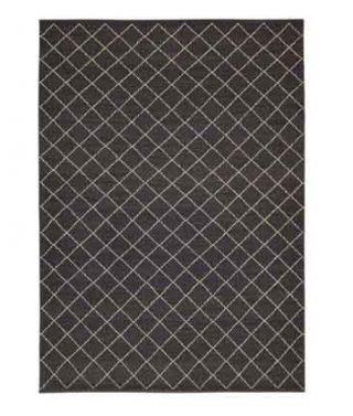 Twine Weave Rug – Charcoal/Limestone