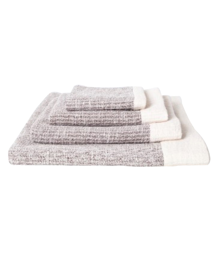 Ribbed Towel brown