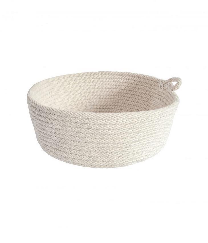 Cotton rope bowl large