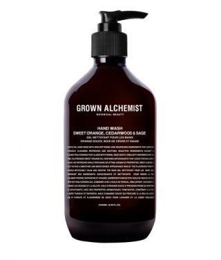Grown Alchemist Hand Wash: Sweet Orange, Cedarwood & Sage – 500mL
