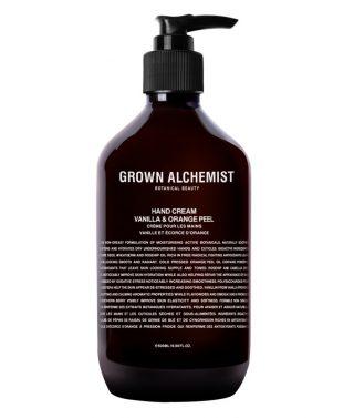 Grown Alchemist Hand Cream: Vanilla & Orange Peel – 500mL