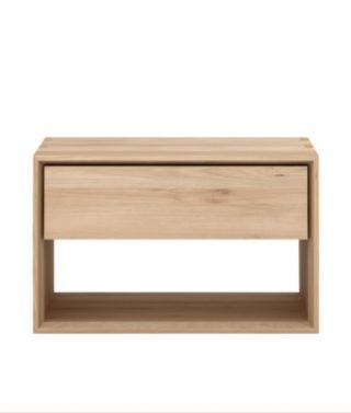 Slimline bedside table