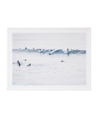 Sunset Surfers print