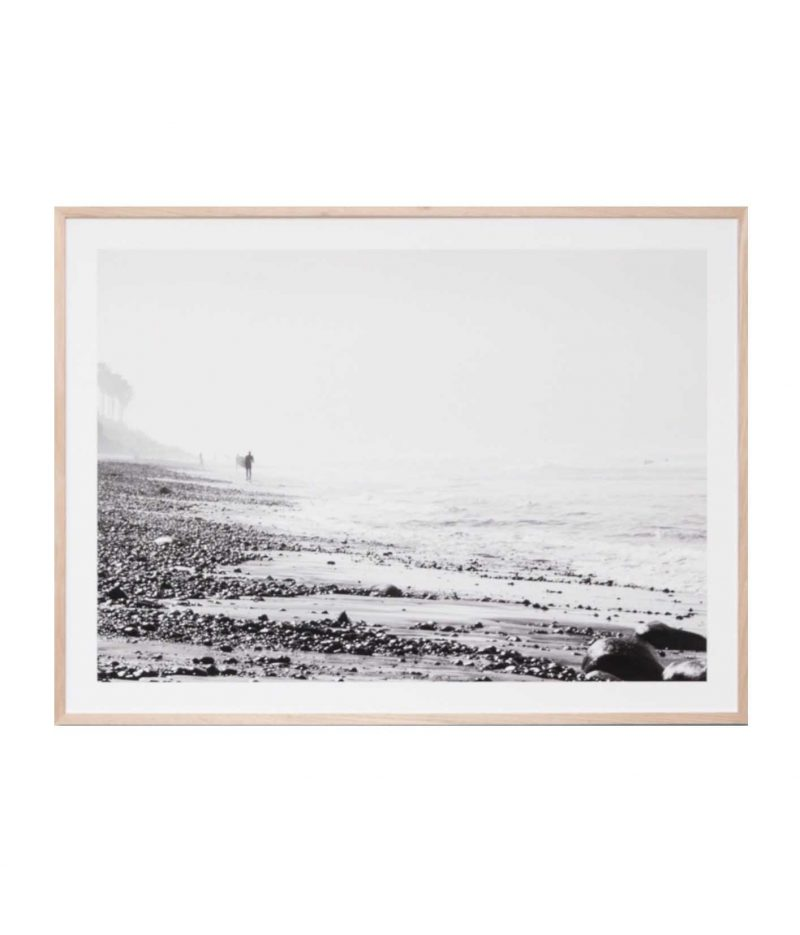california beach print