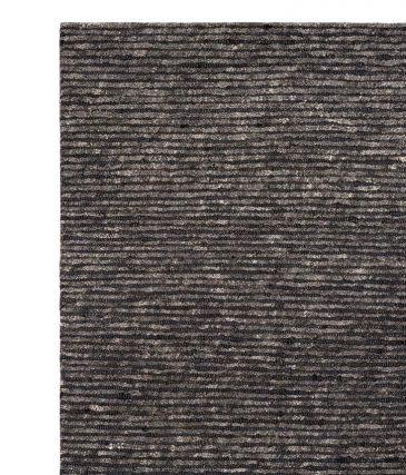 husk weave rug - ink 1