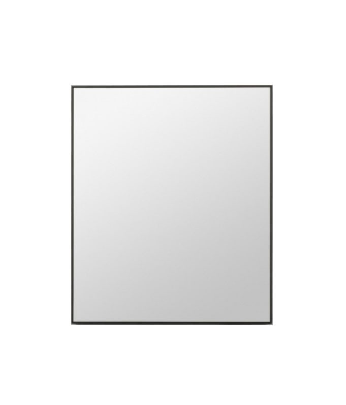 Rectangle mirror black