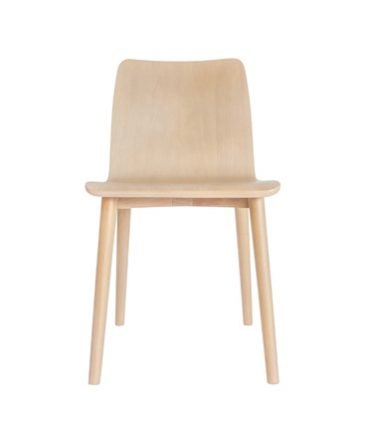 ply wood chair white