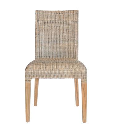 rattan teak chair mocha