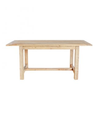 farmhouse recycled elm dining table