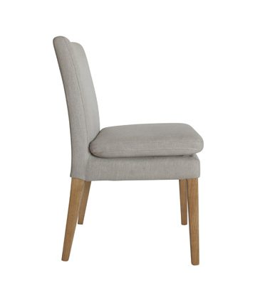upholstered chair flaxen