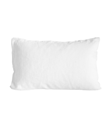 pair of standard pillow cases white