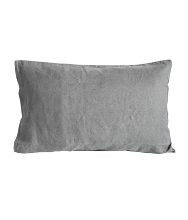 pair of standard pillow cases charcoal