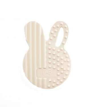 bunny Silicone Teething Disc Cream