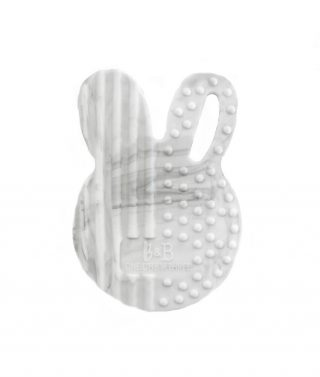 bunny Silicone Teething Disc marble